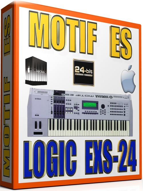 Pay for YAMAHA MOTIF ES SAMPLES APPLE LOGIC PRO-TOOLS EXS 19GB 24BIT