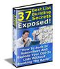 Thumbnail 37 List Building Secrets With ReSale Rights!
