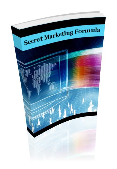 Pay for Secret Marketing Formula