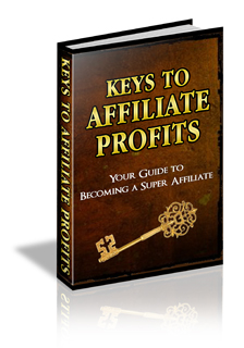 Thumbnail Keys to Affiliate Profits, Internet Marketing & Online Profits