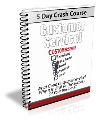 Thumbnail Customer Service - 5 Day Crash Course