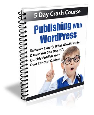 Thumbnail Publishing with Wordpress - 5 Day Crash Course