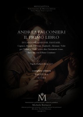 Pay for Andrea Falconieri - IL PRIMO LIBRO- completo - PARTITURA