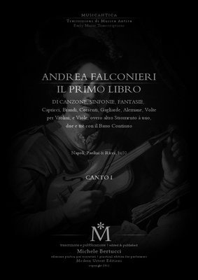 Pay for Andrea Falconieri - IL PRIMO LIBRO - complete SEPARATE PARTS