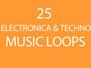 Thumbnail 25 Electronica and Techno Music Tracks and Loops