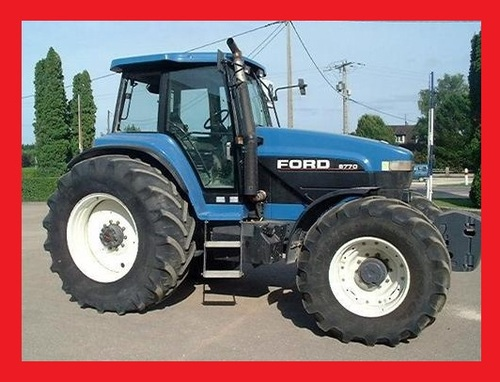 FORD/NEW HOLLAND 8670,8770,8870,8970 Service Workshop Manual on