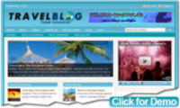 Thumbnail Travel Niche Blog.