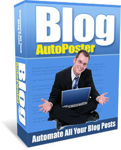 Pay for Blog AutoPoster - Private Label Rights To A Brand New And Profitable Software You Can Stick Your Name On That Earns You Money While You Sleep!