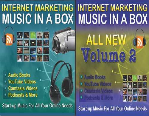 Pay for Internet Marketing Music in a Box V1V2 PLR
