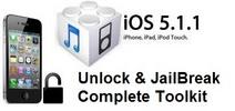 Thumbnail JailBreak & UnLock iPhone 3G 3gS iOS 5.1.1 & 5.0.1