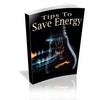 Thumbnail Energy Saving Tips with Master Resell Rights