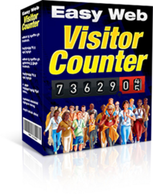 Pay for Easy Web Visitor Counter + Master Resell Rights