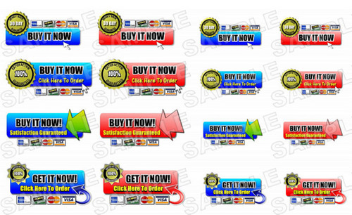 Pay for Order Buttons Graphic with Master Resell Rights