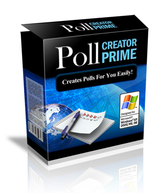 Pay for Poll Creator Prime Software with Master Resell Rights