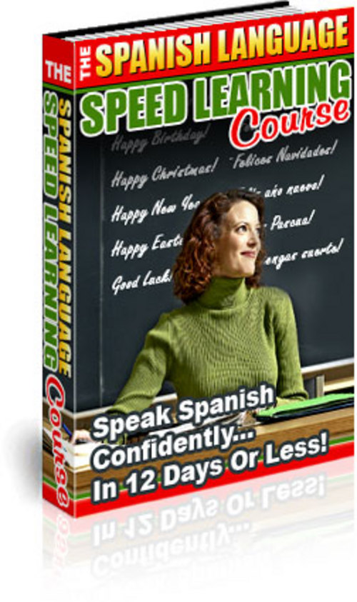 Pay for The Spanish Language Speed Learning Course