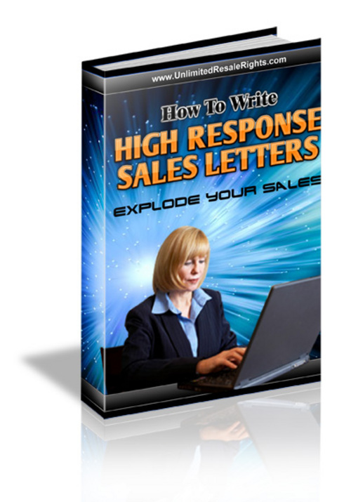 Pay for How to Write High Response Sales Letters with MRR