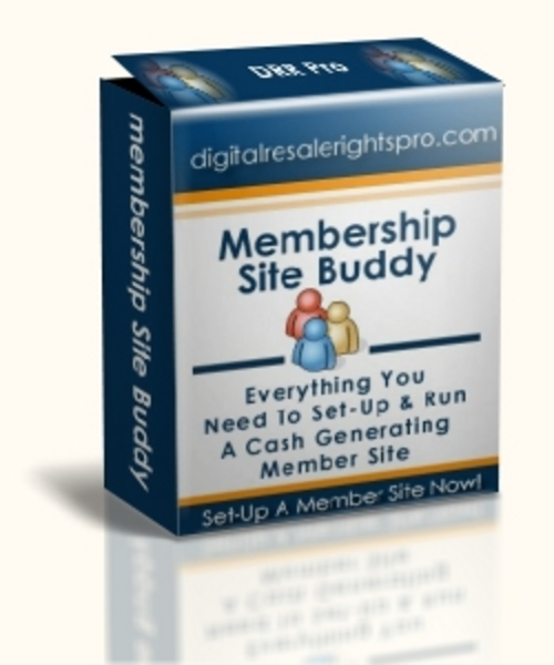 Pay for Membership Site Buddy (MRR)