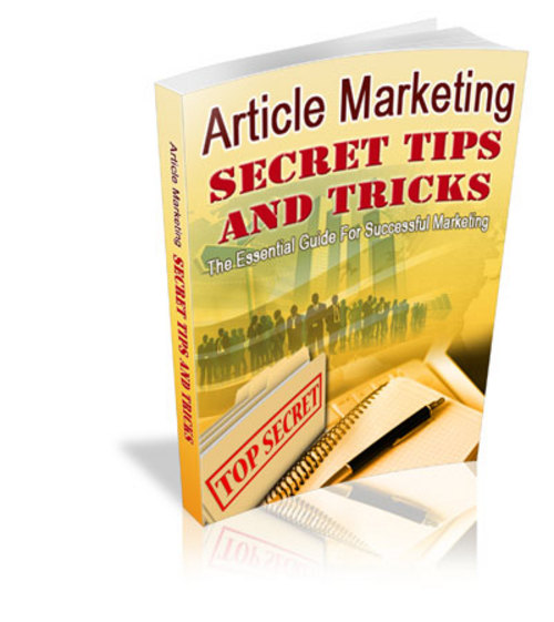 Pay for Article Marketing Secret Tips + MRR