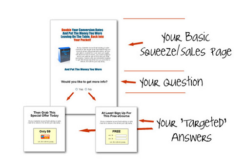 Pay for Interactive Squeeze Pages + Master Resale Rights