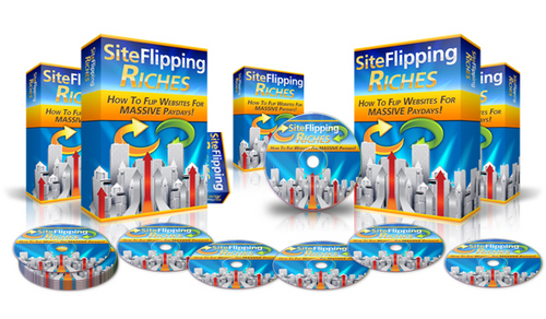 Pay for Site Flipping Riches (Master Resell Rights)