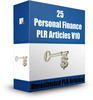 Thumbnail 25 Personal Finance PLR Articles V10 ( Private Label Rights)