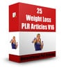 Thumbnail 25 Weight Loss PLR Articles V16 (with PLR!)