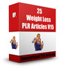 Thumbnail 25 Weight Loss PLR Articles V15 (with PLR!)