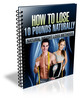 Thumbnail How To Lose 10 Pounds Naturally (with PLR)