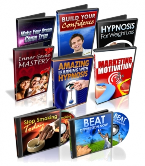 Pay for Eight Hypnosis Tracks (PLR license)