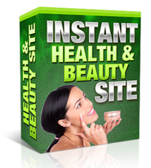 Pay for Instant Health And Beauty Site (with MRR)