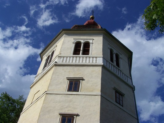 Pay for bell tower on the Schlossberg in Graz / Austria