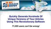 Thumbnail The Best Spinner - the most powerful article spinner softwar