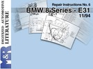Thumbnail BMW E31 850i / 840i  1994 Service Manual & M70 training pdf