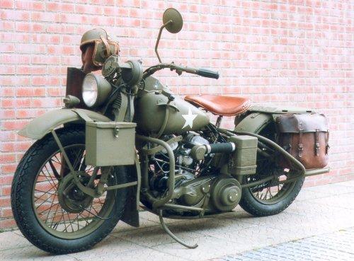 Harley Davidson: 1952 Harley Davidson Model 42 WLA WLG Service