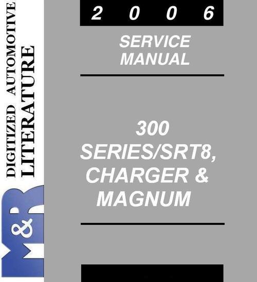 2006 chrysler 300 300c srt8 original service manual downloa rh tradebit com 06 Chrysler 300 White Chrysler 300 06 Black