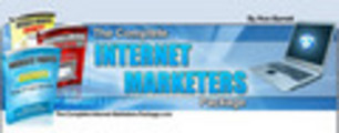 Thumbnail The Complete Internet Marketers Package