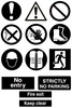 Thumbnail Site safety signs