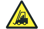 Thumbnail Forklift truck working sign