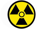 Thumbnail circular radiation badge
