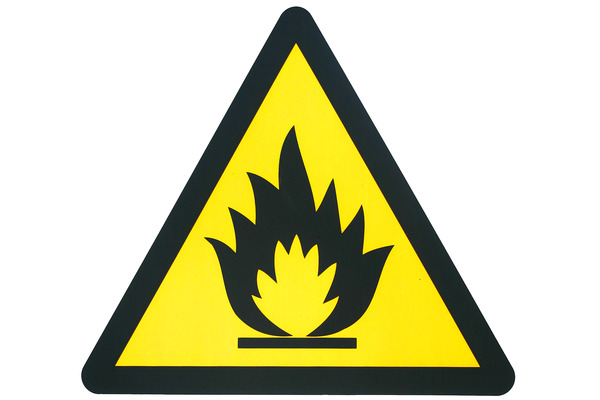 Pay for Fire hazard sign
