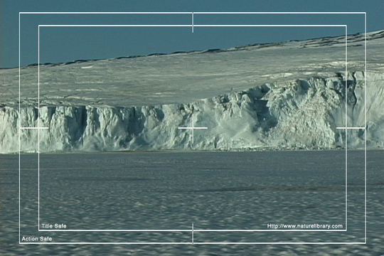 Pay for Royalty Free Stock Footage: Antarctica Glacier: NL00516