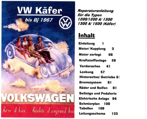 Pay for vwkaefer repanleitung  beetle k fer kaefer vw volkswagen kdf reparaturanleitung .pdf