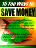 Thumbnail 15 Methods to save money