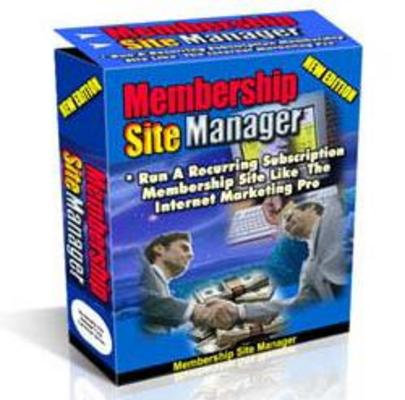 Pay for MEMBERSHIP SITE MANAGER