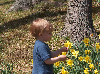 Thumbnail Little Boy Enjoying Nature