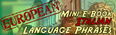 Thumbnail Italian Phrase Mini Ebook
