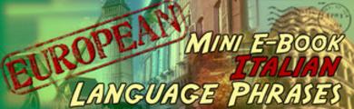 Thumbnail Italian Phrase Mini Ebook