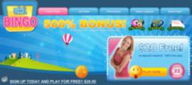 Thumbnail Bingo Website Header
