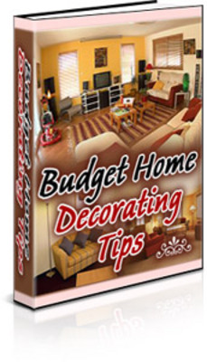 Pay for Budget Guide to Home Decoration