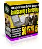 Thumbnail Article Master Series 5: 50 Landscaping & Gardening Articles